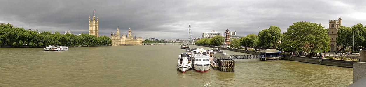 Blick von der Lambeth Bridge London