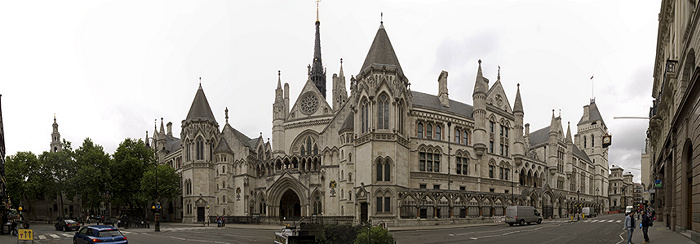 London Royal Courts of Justice