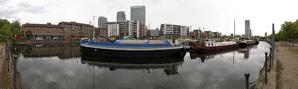 London Docklands: Poplar Dock