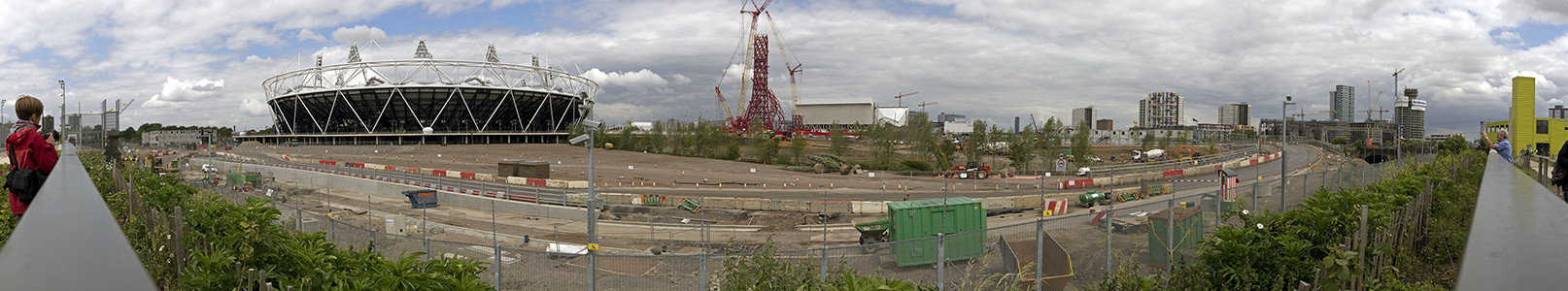 Olympiapark (Olympic Park): Olympiastadion, ArcelorMittal Orbit, London Aquatics Centre London