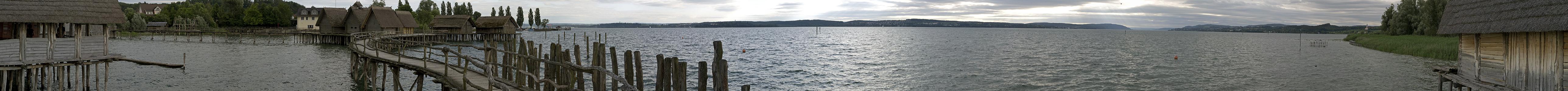 Unteruhldingen Pfahlbauten im Bodensee, Überlinger See Pfahlbaumuseum