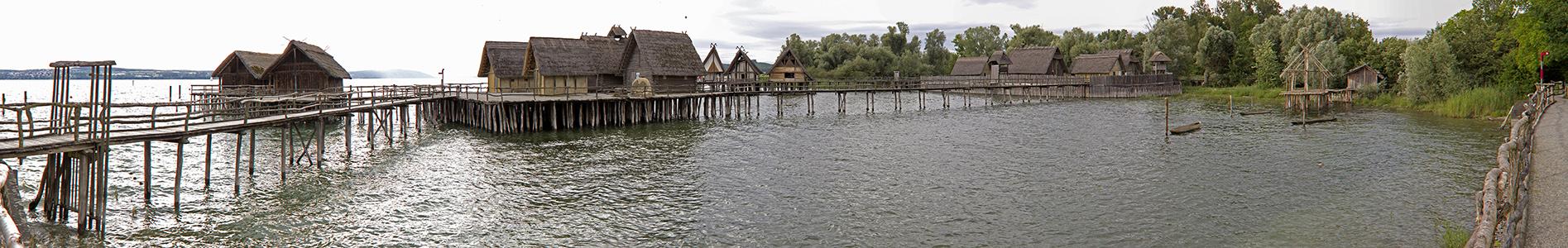 Unteruhldingen Pfahlbauten im Bodensee Pfahlbaumuseum