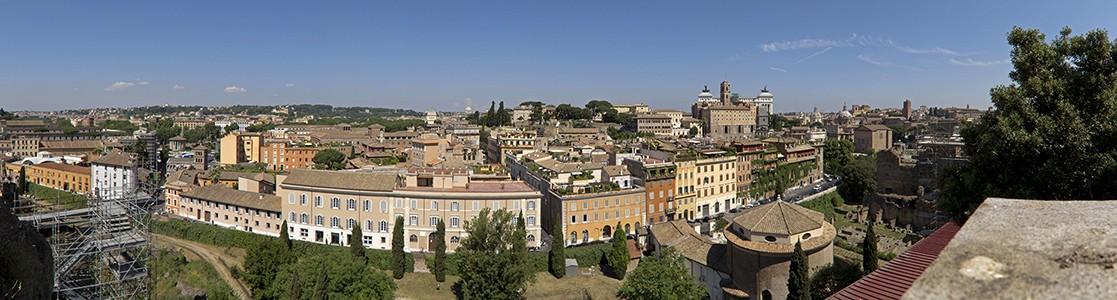 Blick vom Palatin Rom