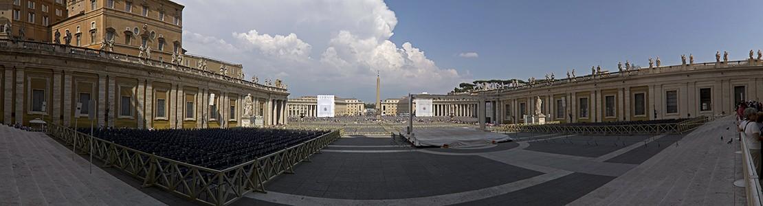 Vatikan Petersplatz