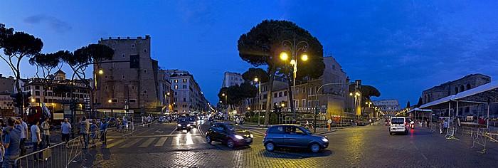 Via Cafour, Via dei Fori Imperiali Rom