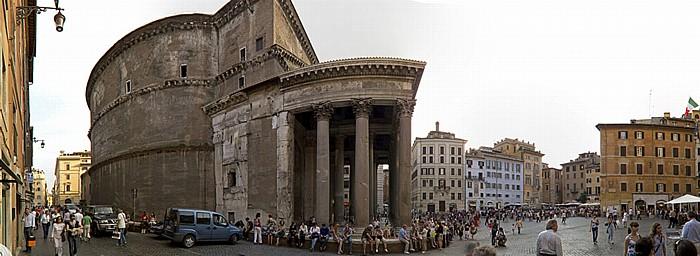 Pantheon, Piazza della Rotonda Rom