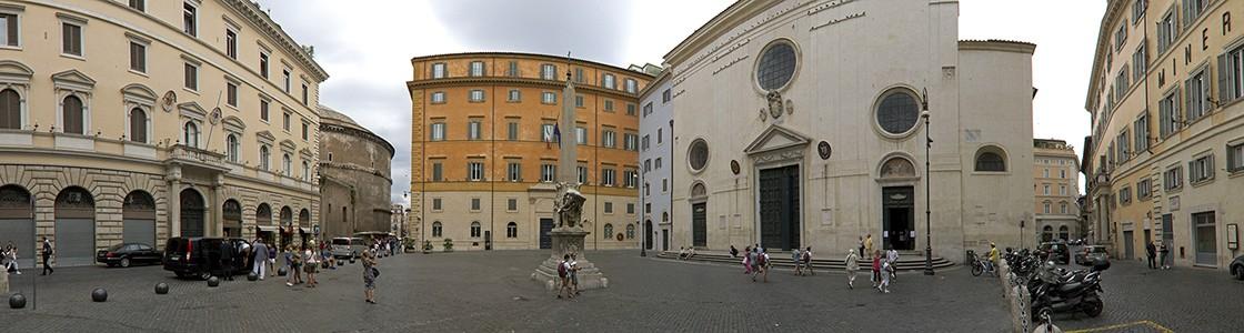 Piazza della Minerva Rom
