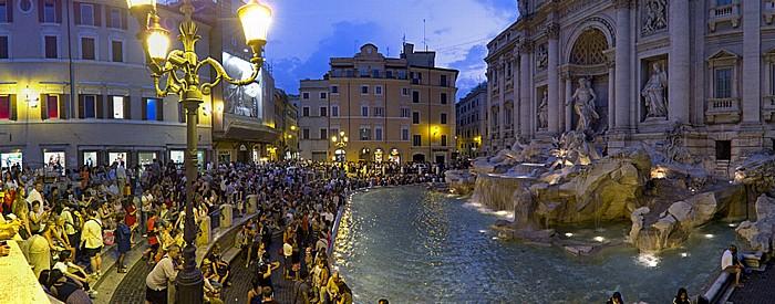 Trevi-Brunnen (Fontana di Trevi) Rom