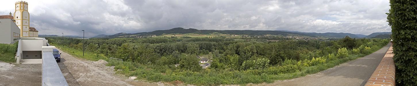 Stift Melk: Blick auf das Donautal