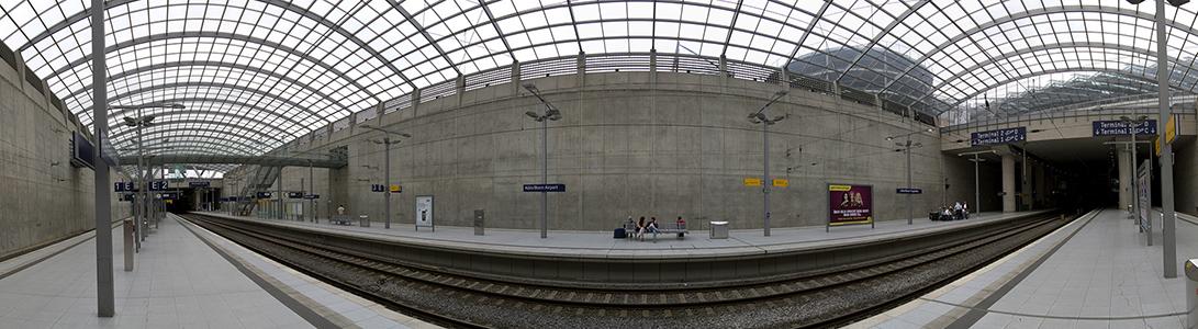 Flughafen Köln/Bonn Konrad Adenauer: Bahnhof Köln/Bonn Flughafen