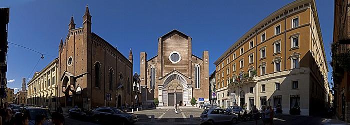 Centro Storico (Altstadt): Dom Santa Maria Matricolare (Duomo), Via Duomo, San Giorgietto, Sant' Anastasia Verona