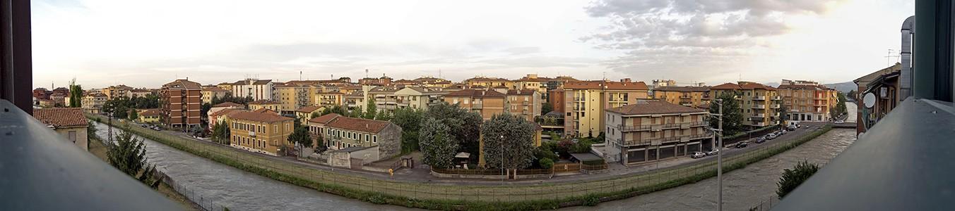Blick aus dem Hotel Porta Palio (morgens) Verona