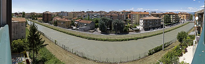 Blick aus dem Hotel Porta Palio (nachmittags) Verona