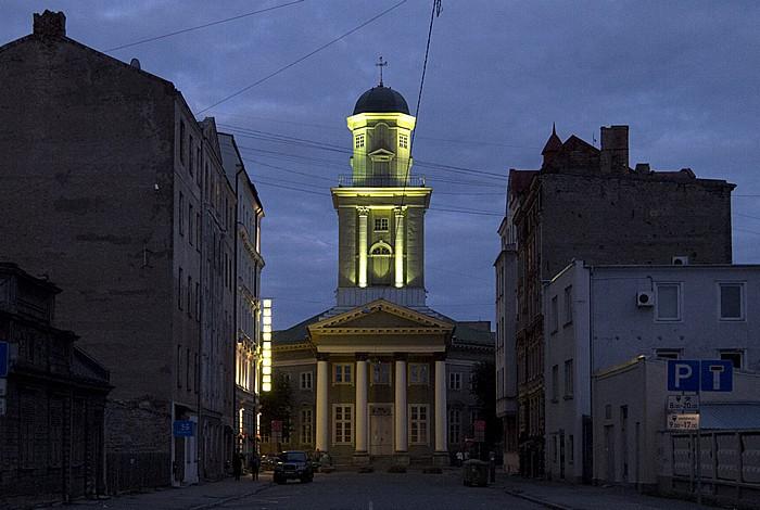 Riga Moskauer Vorstadt (Maskavas forstate): Jesuskirche