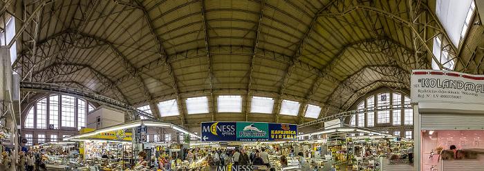 Moskauer Vorstadt (Maskavas forstate): Rigaer Zentralmarkt - Luftschiffhalle Luftschiffhallen