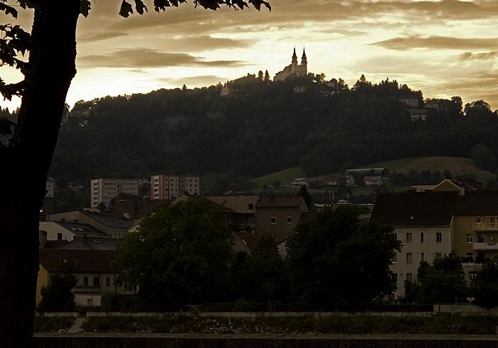 Linz Pöstlingberg mit Wallfahrtskirche