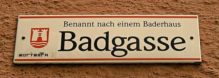Linz Altstadtviertel: Badgasse