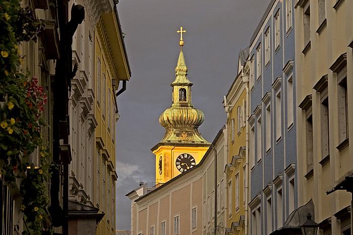 Linz Altstadtviertel: Stadtpfarrkirche Mariä Himmelfahrt