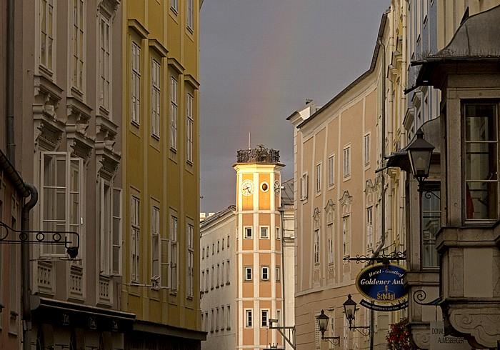 Linz Altstadtviertel: Rathausturm (Altes Rathaus)