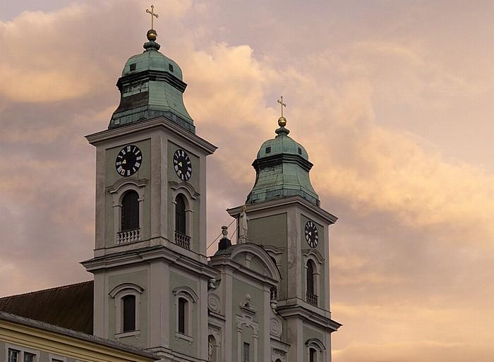 Linz Rathausviertel: Jesuitenkirche (Alter Dom)