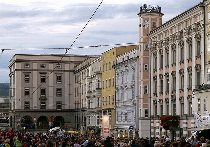 Linz Altstadtviertel: Hauptplatz mit Altem Rathaus Altes Rathaus