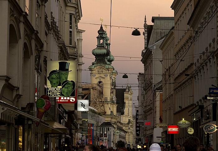 Linz Rathausviertel: Landstraße, Ursulinenkirche