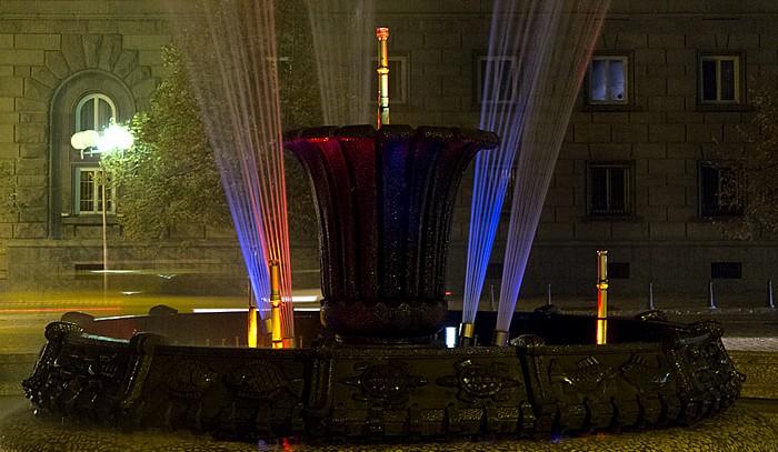Sofia Atanas-Burov-Platz: Brunnen