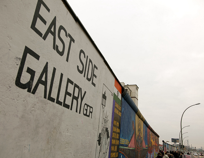 East Side Gallery (Berliner Mauer) Berlin 2011