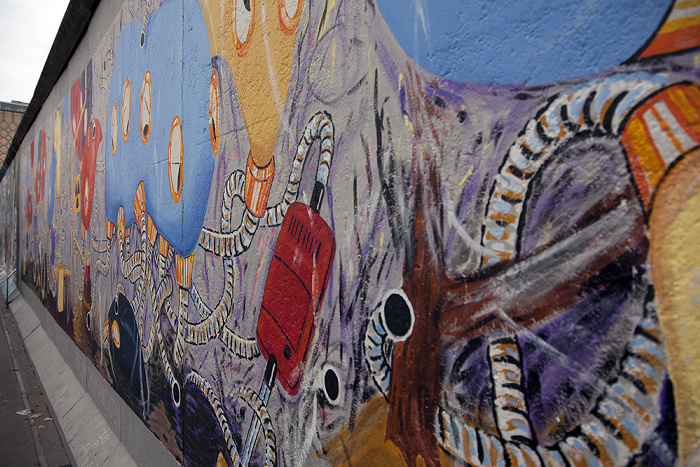 East Side Gallery (Berliner Mauer)