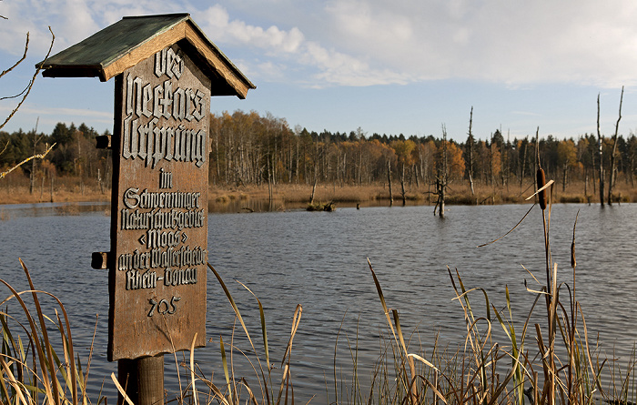 VS-Schwenningen Schwenninger Moos:  Neckarursprung