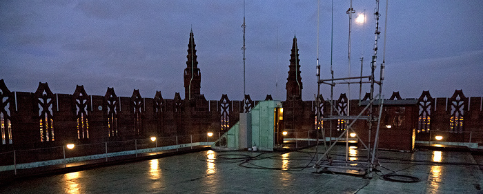 Liverpool Cathedral: Dach des Turms