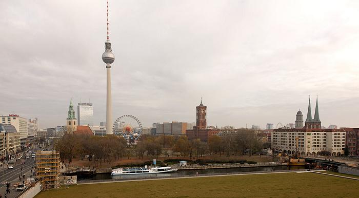 Blick von der Humboldt-Box Berlin