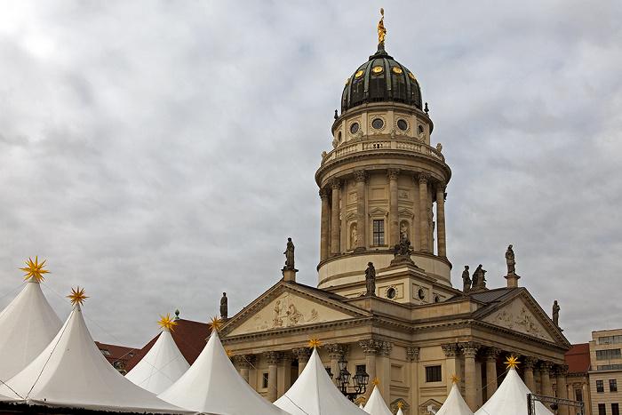 Mitte: Gendarmenmarkt - Französischer Dom Berlin 2011