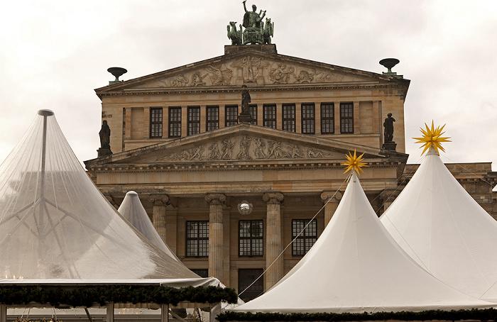 Mitte: Gendarmenmarkt - Konzerthaus Berlin 2011