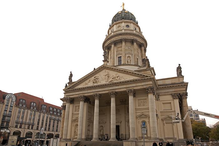 Mitte: Gendarmenmarkt - Deutscher Dom Berlin 2011