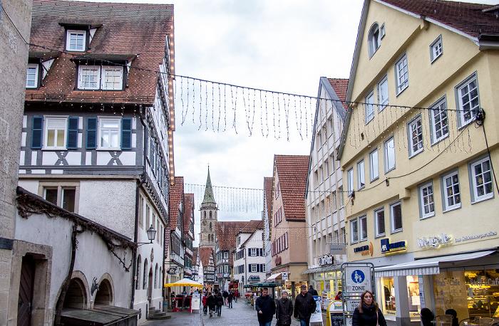 Schorndorf Altstadt: Johann-Philipp-Palm-Straße Evangelische Stadtkirche