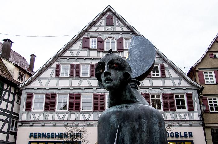 Schorndorf Altstadt: Kirchplatz