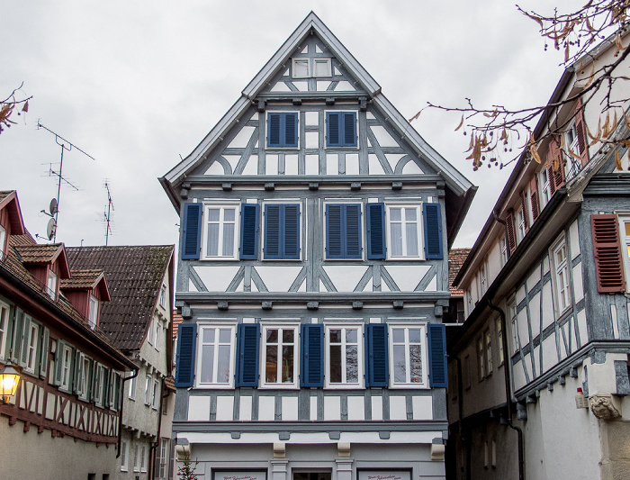 Schorndorf Altstadt: Schlichtener Straße