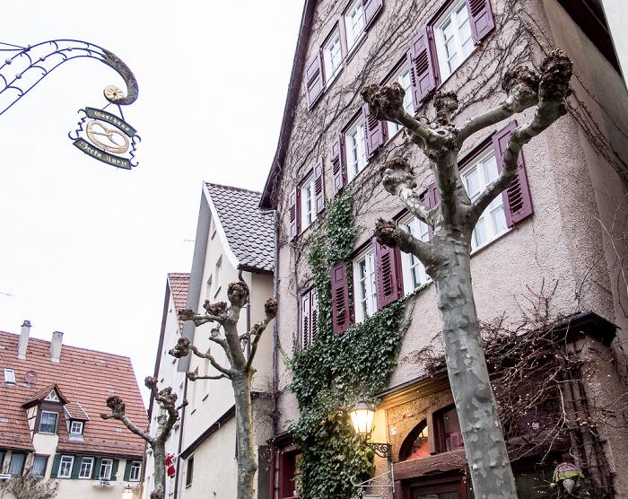 Schorndorf Altstadt: Hetzelgasse