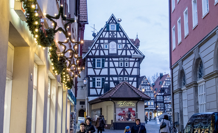 Schorndorf Altstadt: Marktplatz Rathaus