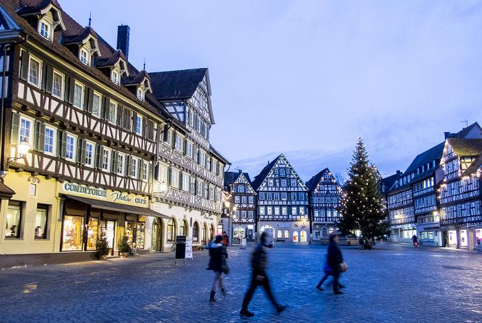 Schorndorf Altstadt: Marktplatz