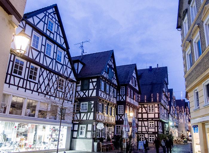 Schorndorf Altstadt: Höllgasse Weinstube zum Büchsenmacher