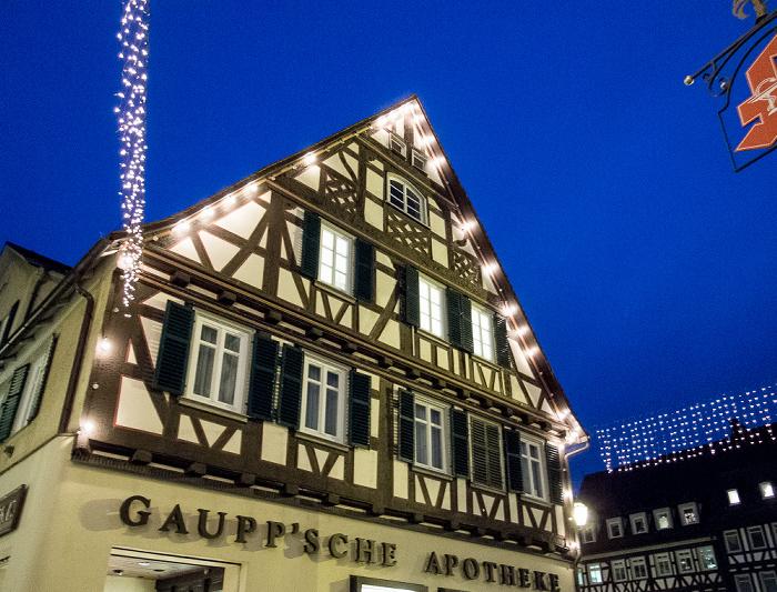 Schorndorf Altstadt: Marktplatz - Gaupp'sche Apotheke