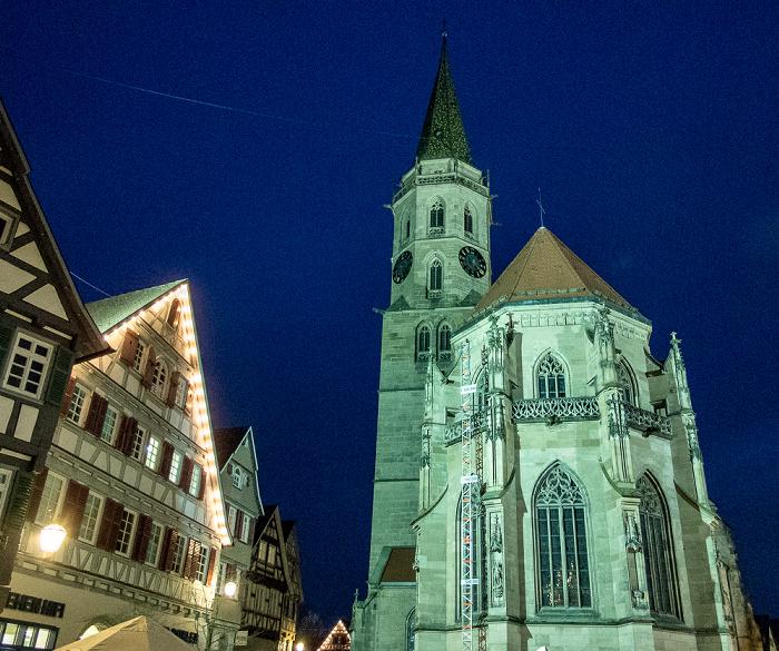 Schorndorf Altstadt: Kirchplatz - Evangelische Stadtkirche