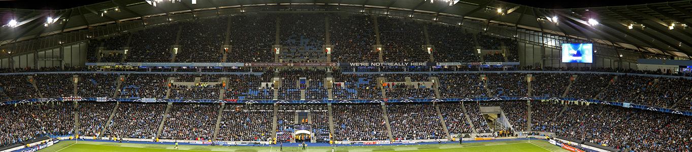City of Manchester Stadium (Etihad Stadium): Haupttribüne