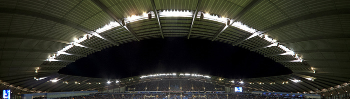 City of Manchester Stadium (Etihad Stadium): Dach