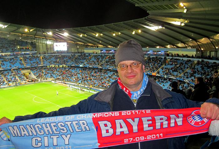 City of Manchester Stadium (Etihad Stadium): Jürgen