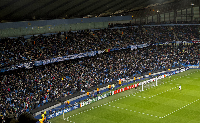 City of Manchester Stadium (Etihad Stadium): Südkurve