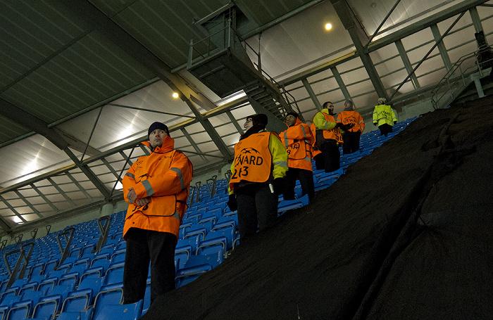 City of Manchester Stadium (Etihad Stadium): Gegentribüne