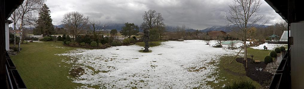 Murnau Blick vom Alpenhof: Bayerische Voralpen